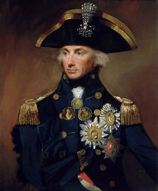 ADMIRAL HORATIO NELSON handwriting